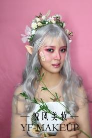魔幻森系新娘 来自丛林城堡的仙子