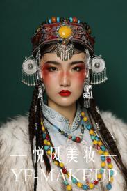 传统民族风元素 彩妆与民族妆容得到完美结合
