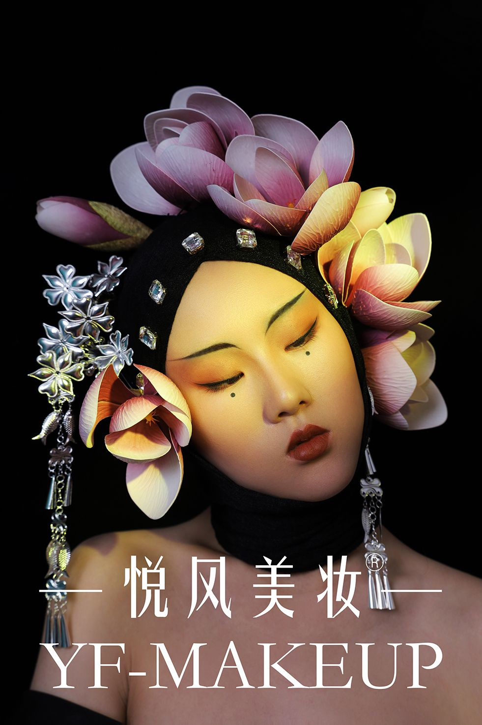 东方国风,时尚创意彩妆