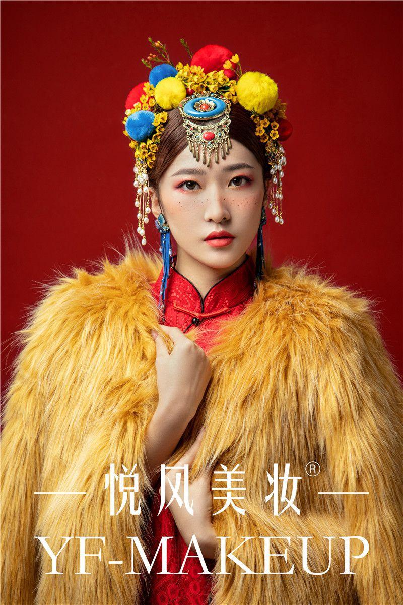 那些绝美的中国风彩妆